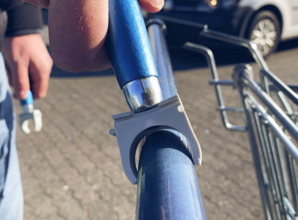 Removable Shopping Cart Handle SCHUBSI