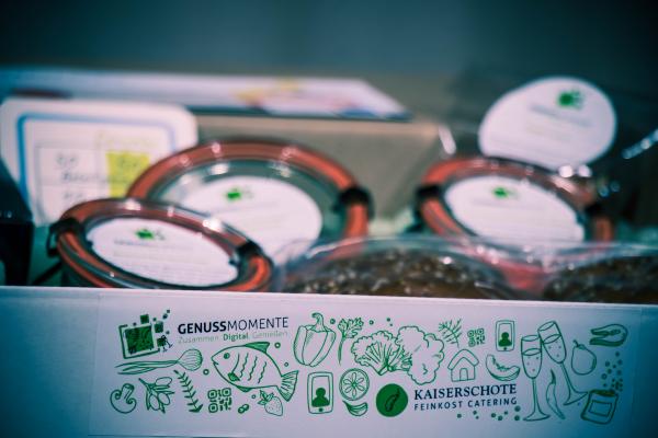 GENUSSMOMENTE – Catering für digitale Veranstaltungen
